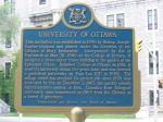 Ottawa plaque UofOttawa19