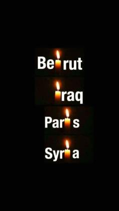 Beirut Iraq Paris Syria